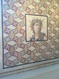 Mosaikkunst an getroffen lizenzfreie stockbilder