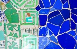 mosaikmodell som är på måfå royaltyfri fotografi