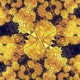 Mosaikmuster-Beschaffenheitshintergrunddekoration kreativ lizenzfreie abbildung