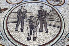 Mosaikmuster Schüsseln Stockfotografie