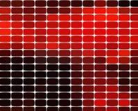 Mosaikmusterhintergrund Helle bunte Fliesen mit weißer Abstandsbeschaffenheit stock abbildung