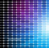 Mosaikmusterhintergrund Helle bunte Fliesen mit weißer Abstandsbeschaffenheit vektor abbildung