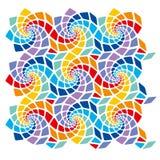 Mosaikschablone Stockfoto