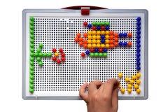 Mosaikspielzeug Stockbilder