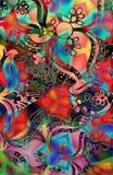 mosaikstämpel Royaltyfri Foto