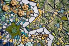 mosaiktegelplattor Fotografering för Bildbyråer