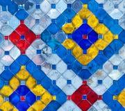 mosaiktextur Arkivfoton