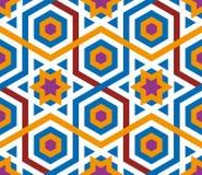mosaikwallpaper vektor illustrationer
