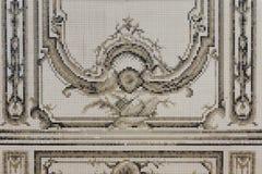 Mosaikwand Stockbild