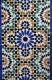 Mosaique de palais du Bahia Photo libre de droits