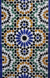 Mosaique do palácio de Baía Foto de Stock Royalty Free