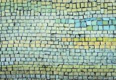 Mosaisk bakgrund Royaltyfri Foto