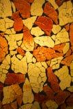 Mosaisk bakgrund Royaltyfri Bild