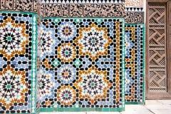 Mosaisk detaljarkitektur Royaltyfri Fotografi