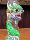 Mosaisk drake på en kolonn Royaltyfri Fotografi