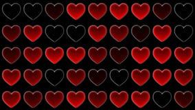 Mosaisk hjärta Arkivfoton