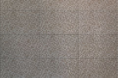 Mosaisk keramisk tegelplatta för vägggarnering Royaltyfri Fotografi