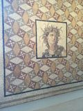 Mosaisk konst på mött Royaltyfria Bilder