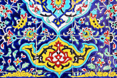 Mosaisk målning Fotografering för Bildbyråer
