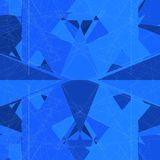 Mosaisk netto strukturvektor för tråd Royaltyfri Fotografi