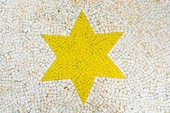 Mosaisk stjärna Royaltyfria Foton