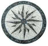 Mosaisk texturbakgrund för marmor Arkivbilder