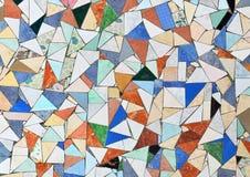 Mosaisk vägg Arkivfoto
