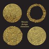 Mosaiska designbeståndsdelar Royaltyfri Fotografi