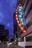 Mosaiska lägenheter i Dallas Downtown Arkivbild