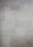 Mosaiska marmorgrå färgtegelplattor Royaltyfri Fotografi