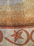 Mosaiskt fragment Hav Arkivbild