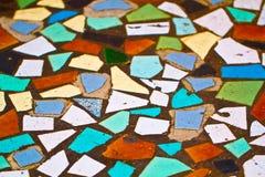 Mosaiskt golv Arkivbilder