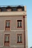 Mosaiskt hus i Portugal Arkivfoton