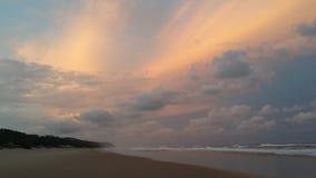 Mosambik-Sonnenuntergang lizenzfreies stockbild