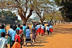 Mosambik Victory Day, Metarica, Niassa, Sept. 07 Stockfotografie