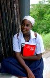 Mosambique teenager girl Stock Photos