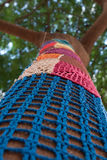 Mosaïque de modèle de Knit Images stock