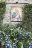 Mosaïque de St Mary et de Jésus, Florence Images libres de droits