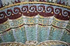 Mosaïque à Herculanum Photo stock