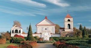 Mosar, περιοχή του Βιτσέμπσκ, της Λευκορωσίας Εκκλησία του ST Anne φιλμ μικρού μήκους