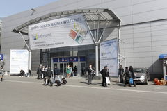 mosbuild 2011 international выставки Стоковое Изображение RF
