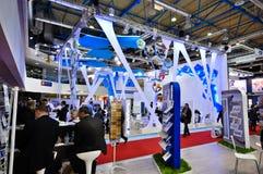 MosBuild 2012 wystawa, Kwiecień, 11 2012, Moskwa, Rosja Fotografia Royalty Free