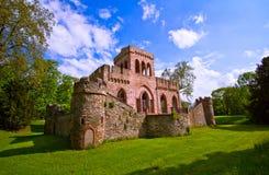 mosburg grodowa ruina obrazy royalty free