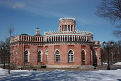 Moscú. âTsaritsynoâ del museo. Tercer Kaval Fotografía de archivo