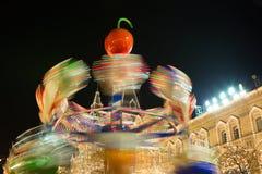 moscú Año Nuevo en cuadrado rojo Fotografía de archivo libre de regalías
