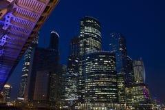 Moscú ajardina, ciudad de Moscú, Moscú, Rusia Imagen de archivo