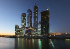 Moscú-Ciudad Fotografía de archivo