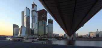 Moscú-Ciudad Foto de archivo libre de regalías