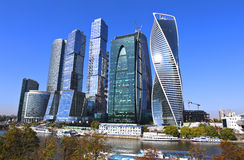 Moscú-Ciudad del centro de negocios Imagen de archivo