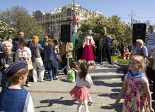 Moscú, día de la victoria Imagen de archivo libre de regalías